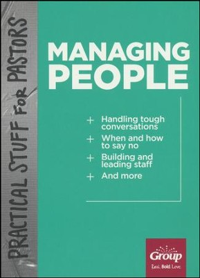 Practical Stuff for Pastors: Managing People  -