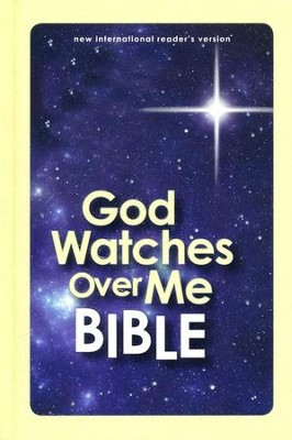 NIrV God Watches Over Me Bible, Glow-in-the-Dark   -