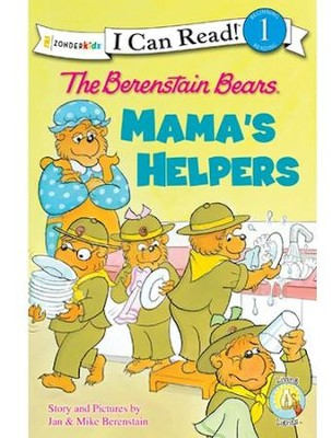 The Berenstain Bears Mama's Helpers - Slightly Imperfect  -     By: Jan Berenstain, Mike Berenstain