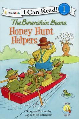The Berenstain Bears Honey Hunt Helpers   -     By: Jan Berenstain, Mike Berenstain