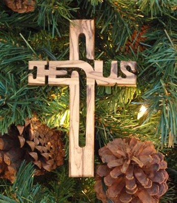 Jesus Wall Cross, Small  -