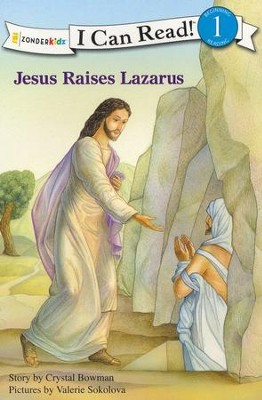 Jesus Raises Lazarus  -     By: Crystal Bowman