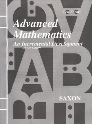 Advanced Mathematics Test Forms       -     By: Saxon