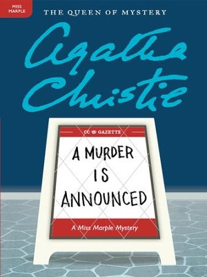 A Murder Is Announced: A Miss Marple Mystery - eBook  -     By: Agatha Christie