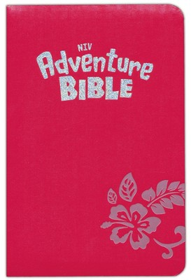 NIV Adventure Bible, Tropical Pink - Slightly Imperfect  -