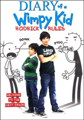 Diary of A Wimpy Kid: Rodrick Rules, DVD   -
