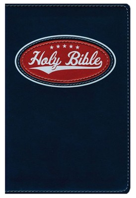 NIV Backpack Bible--soft leather-look, all-star blue  -