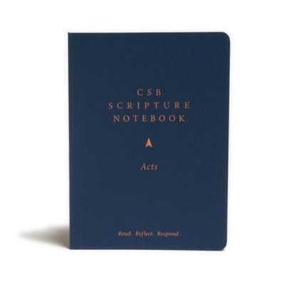 CSB Scripture Notebook, Acts  -