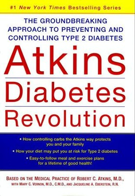 Atkins Diabetes Revolution - eBook  -     By: Robert C. Atkins M.D.