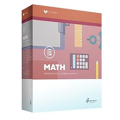 Lifepac Math, Grade 3, Complete Set   -