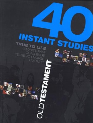 True to Life: 40 Instant Studies: Old Testament  -