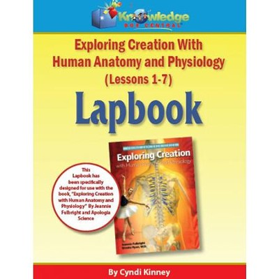 Apologia Exploring Creation with Human Anatomy & Physiology Lapbook Lessons 1-7 Kit  -     By: Cyndi Kinney