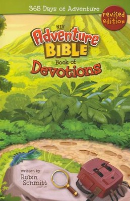 Adventure Bible Book of Devotions, NIV: 365 Days of Adventure - Slightly Imperfect  -     By: Robin Schmitt