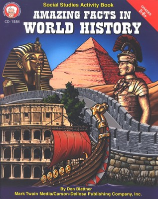 Amazing Facts in World History Grades 5-8+  -     By: Don Blattner