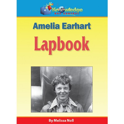 Amelia Earhart Lapbook PDF CD-ROM  -     By: Melissa Noll