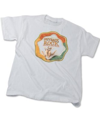 Outback Rock VBS 2015: Bagged Theme Adult T-Shirt (Small 34-36)   -