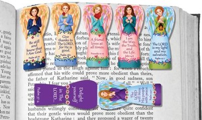 Magnetic Angel Bookmarks, Pack of 6  -