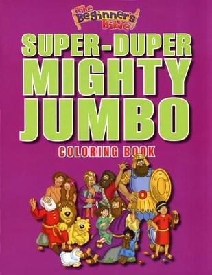 The Beginner\'s Bible Super-Duper Mighty Jumbo Coloring Book ...