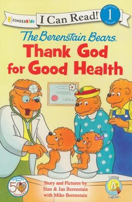 The Berenstain Bears, Thank God for Good Health - Slightly Imperfect  -