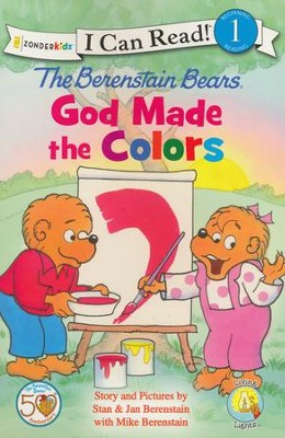 The Berenstain Bears, God Made the Colors  -     By: Jan Berenstain, Mike Berenstain