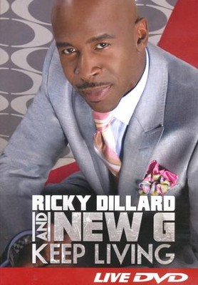 Keep Living (DVD Amray)   -     By: Ricky Dillard, New G