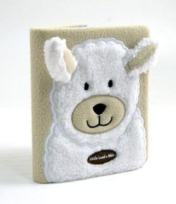 Little Lamb's Bible, plush board book  -