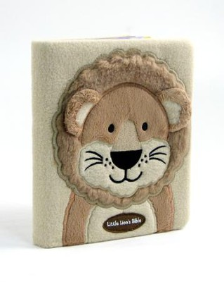 Little Lion's Bible, plush board book - Slightly Imperfect  -