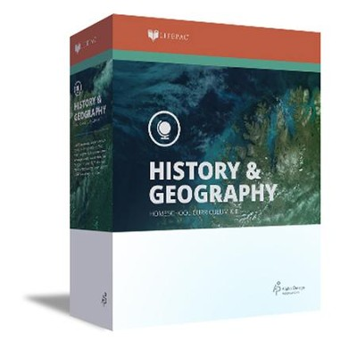 Lifepac History & Geography Complete Set, Grade 9   -