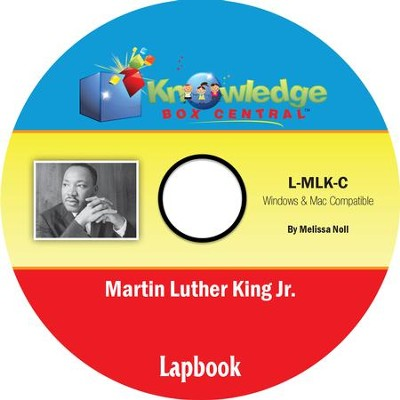 Martin Luther King Jr. Lapbook PDF CD-ROM  -     By: Melissa Noll