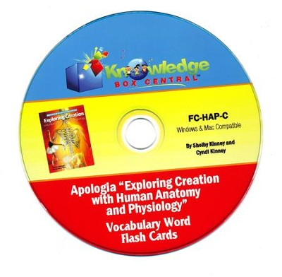 Exploring Creation with Human Anatomy & Physiology Vocabulary Flash ...