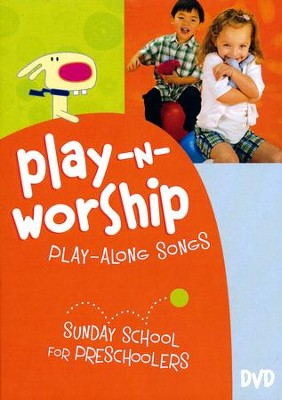Play-n-Worship: Play-Along Songs for Preschoolers--DVD  -