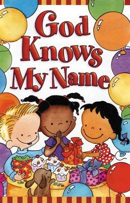 God Knows My Name (KJV), Pack of 25 Tracts   -