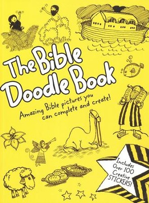 Bible Doodle Book: Amazing Bible Pictures You can Complete and Create  -