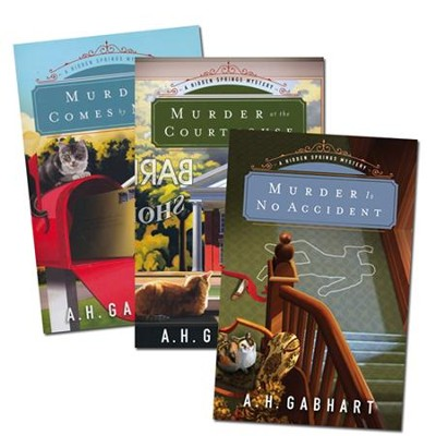 The Hidden Springs Mysteries Series, Volumes 1-3  -     By: A.H. Gabhart
