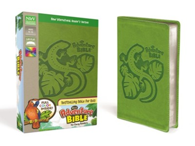 NirV Adventure Bible for Early Readers, Italian Duo-Tone, Jungle Green  -     By: Lawrence O. Richards