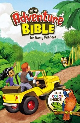 NirV Adventure Bible for Early Readers, Lenticular (3D Motion), Hardcover  -     By: Lawrence O. Richards