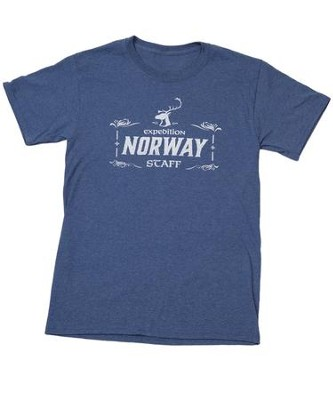 Expedition Norway VBS 2016: Staff T-shirt, X-Large (46-48)   -