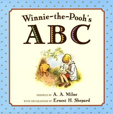 Winnie-the-Pooh ABC Board Book  -     By: A.A. Milne     Illustrated By: Ernest H. Shepard