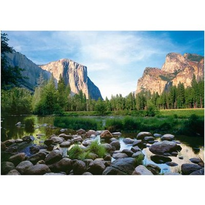 Yosemite Valley, 1000 Piece Jigsaw Puzzle   -