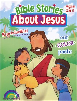 Bible Stories about Jesus: Ages 2-3   -     By: Darlene Hoffa