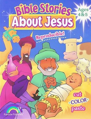 Bible Stories about Jesus: Ages 4-5   -     By: Darlene Hoffa