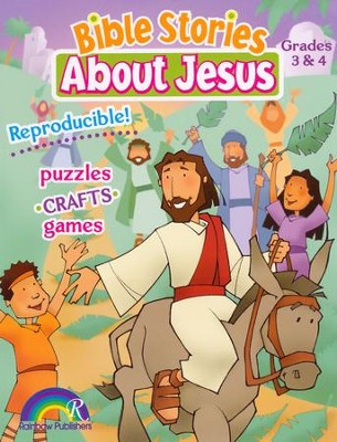 Bible Stories about Jesus: Grades 3 & 4   -     By: Darlene Hoffa