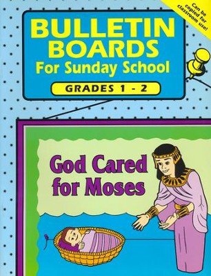 Bulletin Boards for Sunday School, Grades 1-2   -     By: Carolyn Jensen