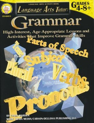 Language Arts Tutor: Grammar (4-8+)  -     By: Cindy Barden