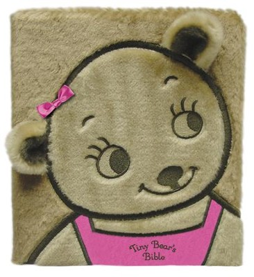 Tiny Bear's Bible, Board Book, Faux Fur, Pink  -     By: Sally Lloyd-Jones