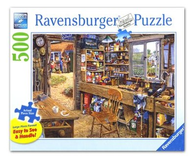 Dad's Shed, 500 Piece Puzzle   -