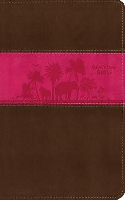 NIV Adventure Bible, Chocolate/Hot Pink  -     By: Lawrence O. Richards