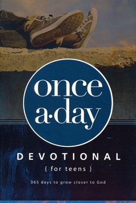 NIV Once-A-Day Devotional for Teens   -