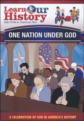 One Nation Under God: A Celebration of God in America's History DVD  -