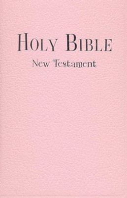 NIV Tiny Testament Bible, Pink  -